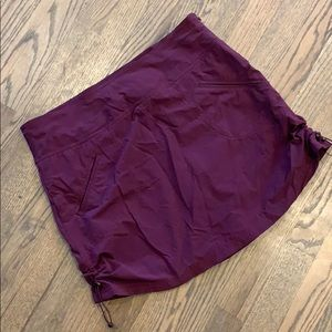 Athleta skirt with ruched sides